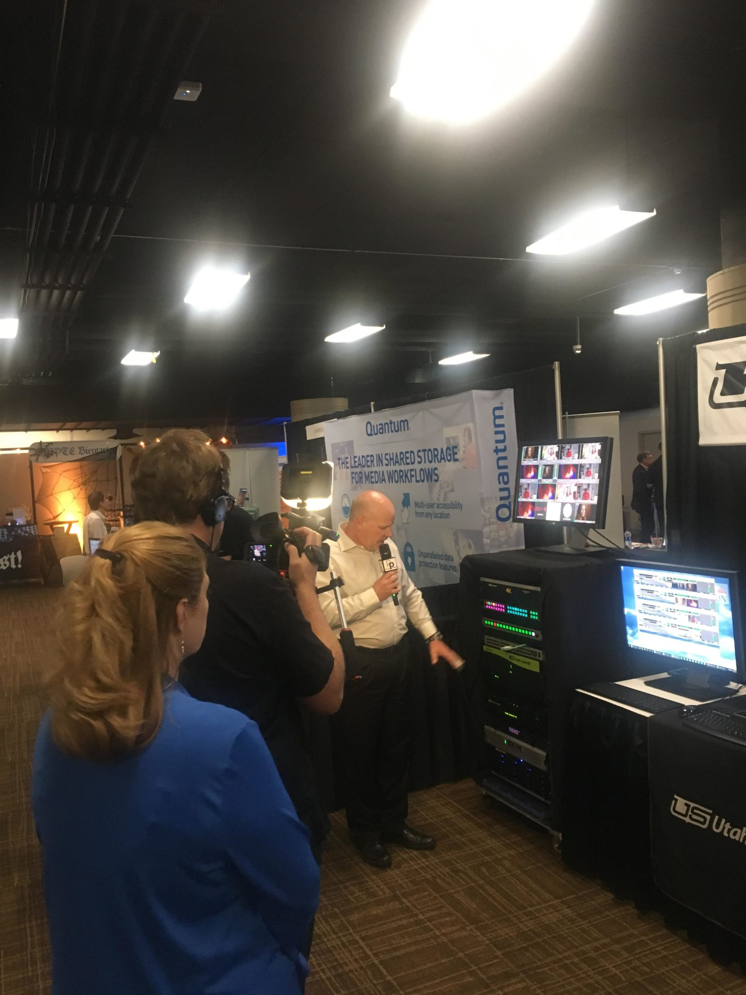 Troy at SMPTE 2018 Meeting With the Press