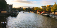 Amsterdam river